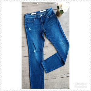 *Pilcro and the Letterpress Distressed Jeans*